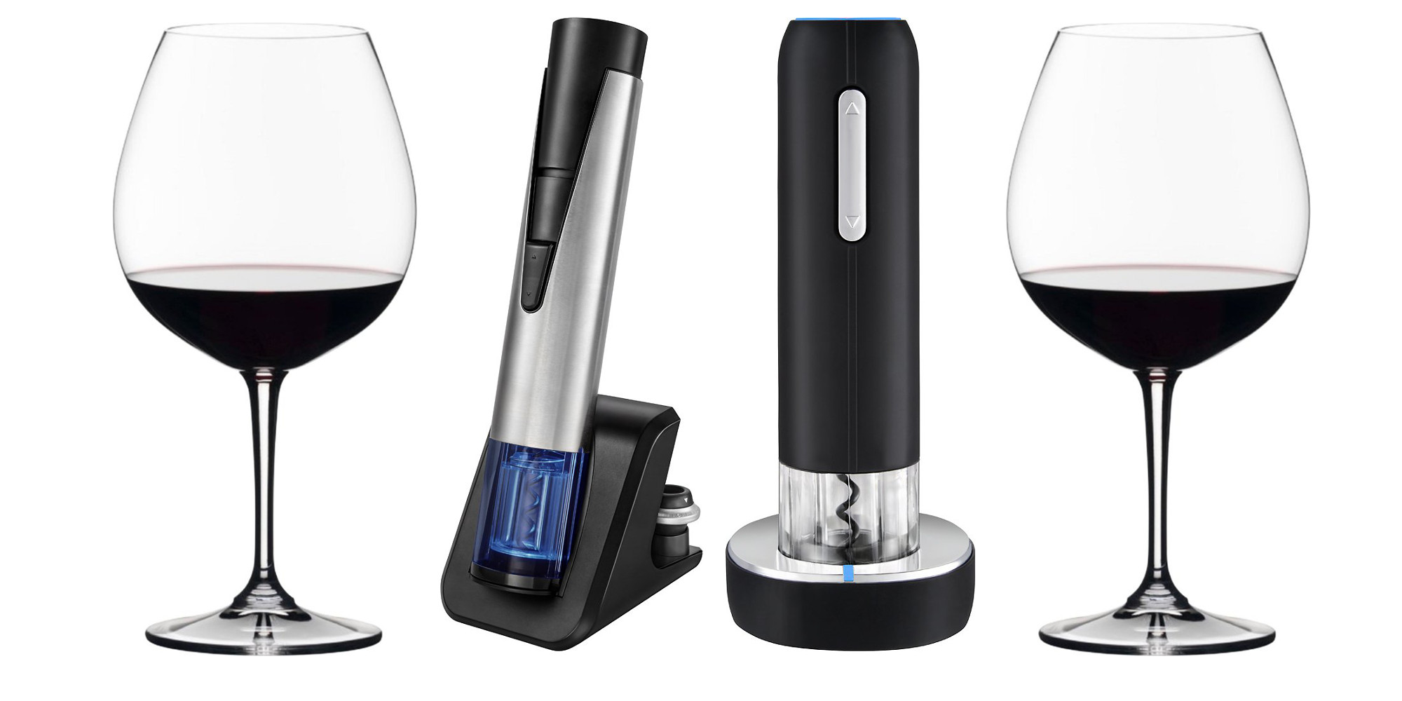 Up to 55% off wine accessories at Best Buy: electric openers, glasses and more from $7.50