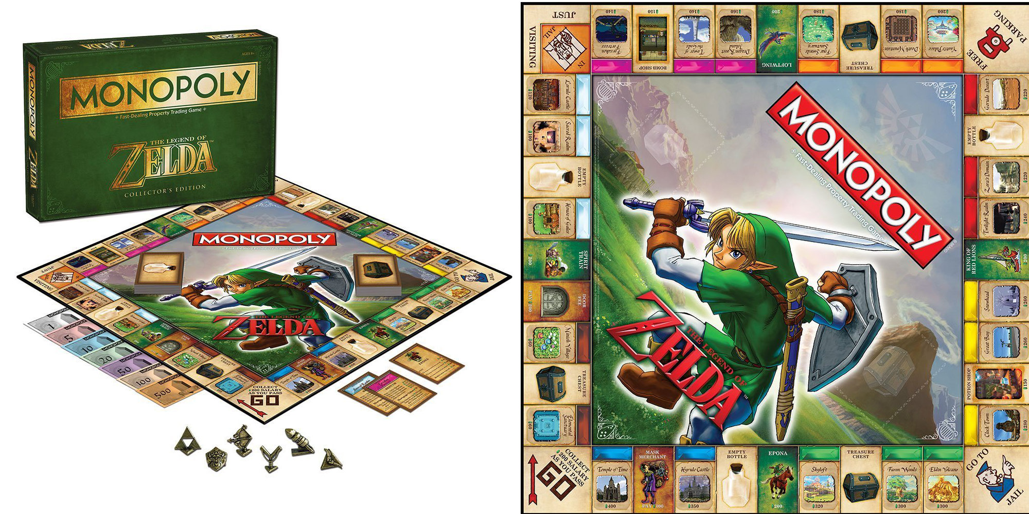 Pass GO on the Monopoly Legend of Zelda Edition for $25 or less (Reg. up to $40)