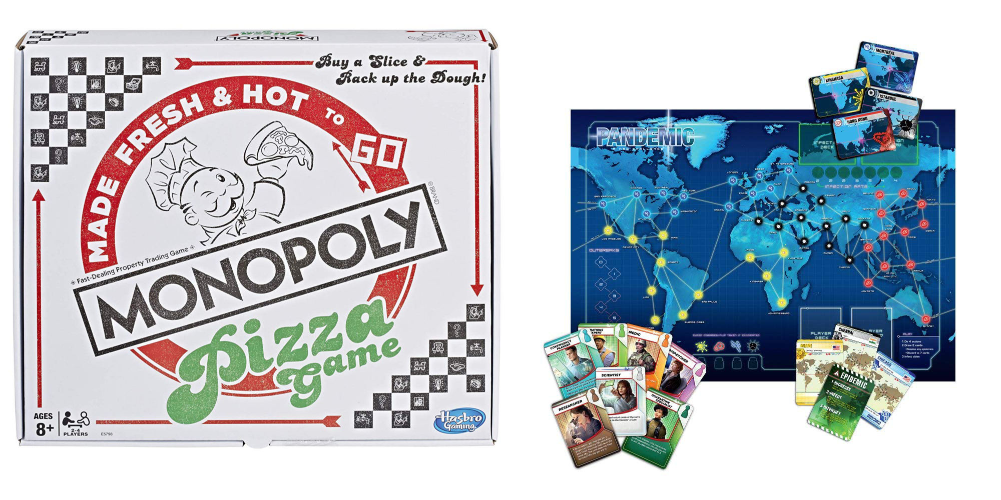 Refresh board game night from $10: Monopoly Pizza, Pandemic, Dungeons & Dragons, more