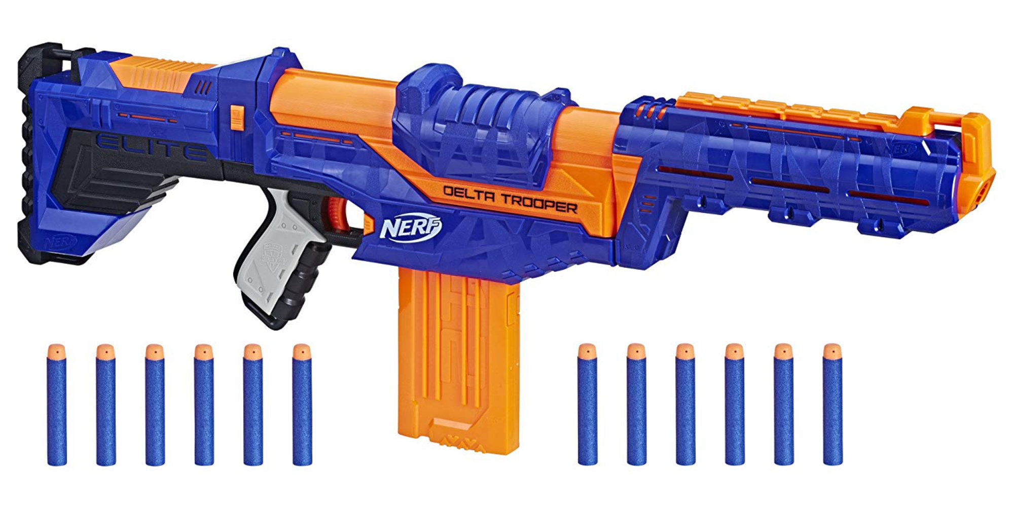 Nerf's N-Strike Elite Delta Trooper shoots darts up to 90 feet: $20 at Amazon (Save 30%)