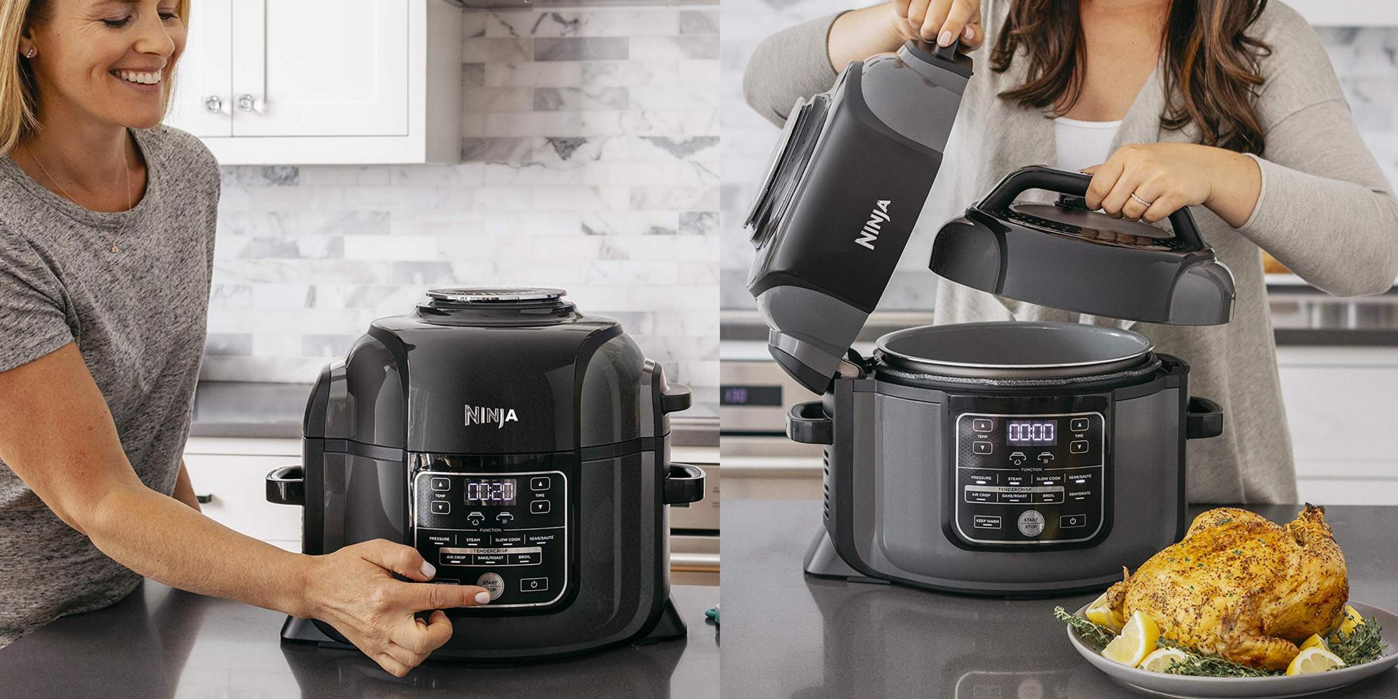 Ninja S Family Sized Foodi Multi Cooker Air Fryer Hits Amazon Low