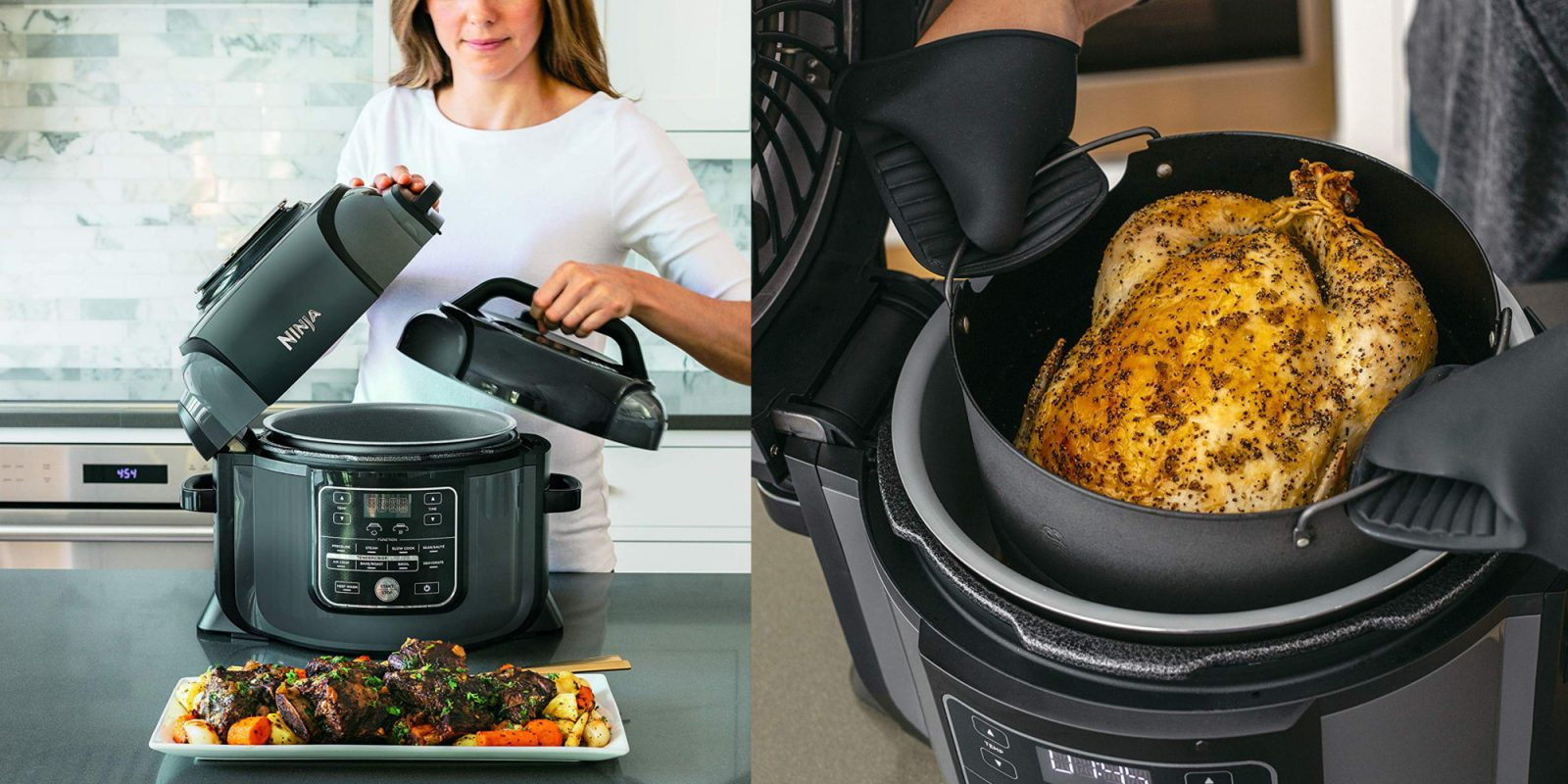Ninja's Foodi Cooker can air fry and dehydrate for $120 (Refurb, Orig. $280)