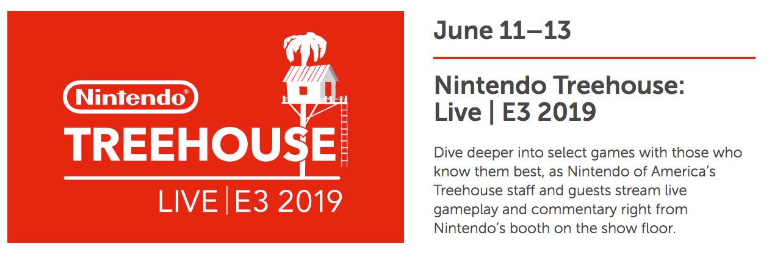 Nintendo E3 2019 Treehouse