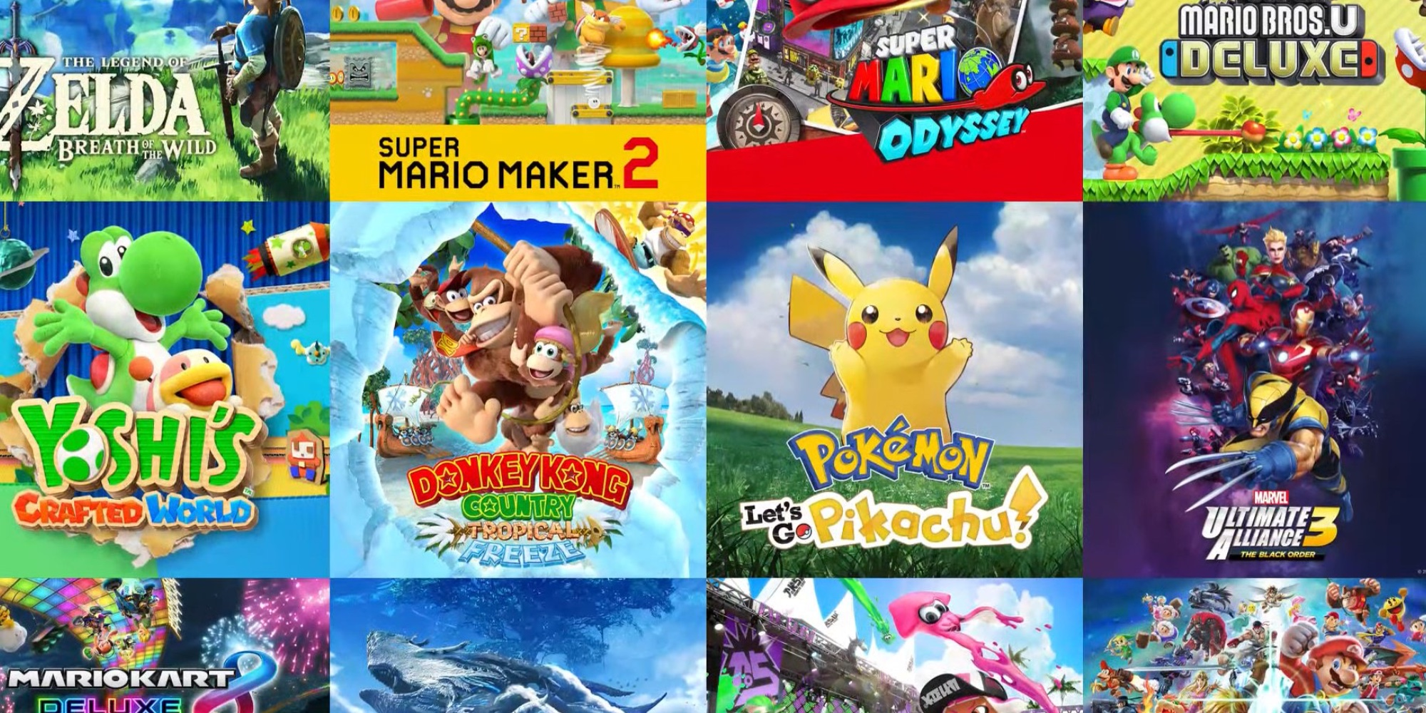 Nintendo Switch Game Vouchers