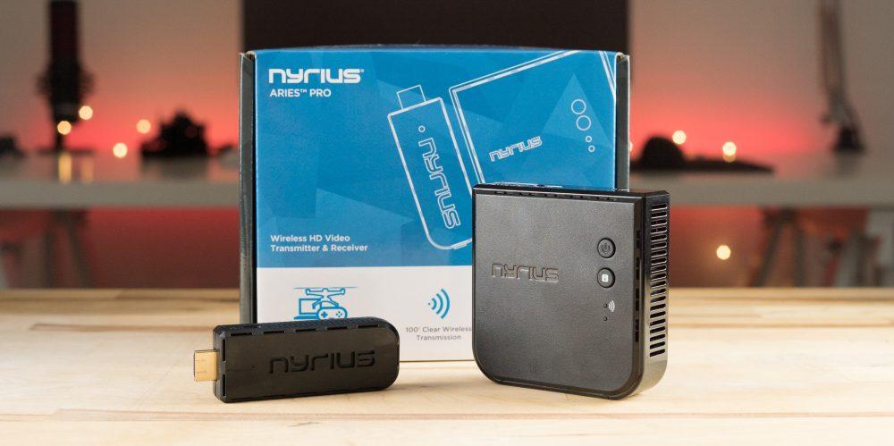 Nyrius Aries Pro transmitter and receiver