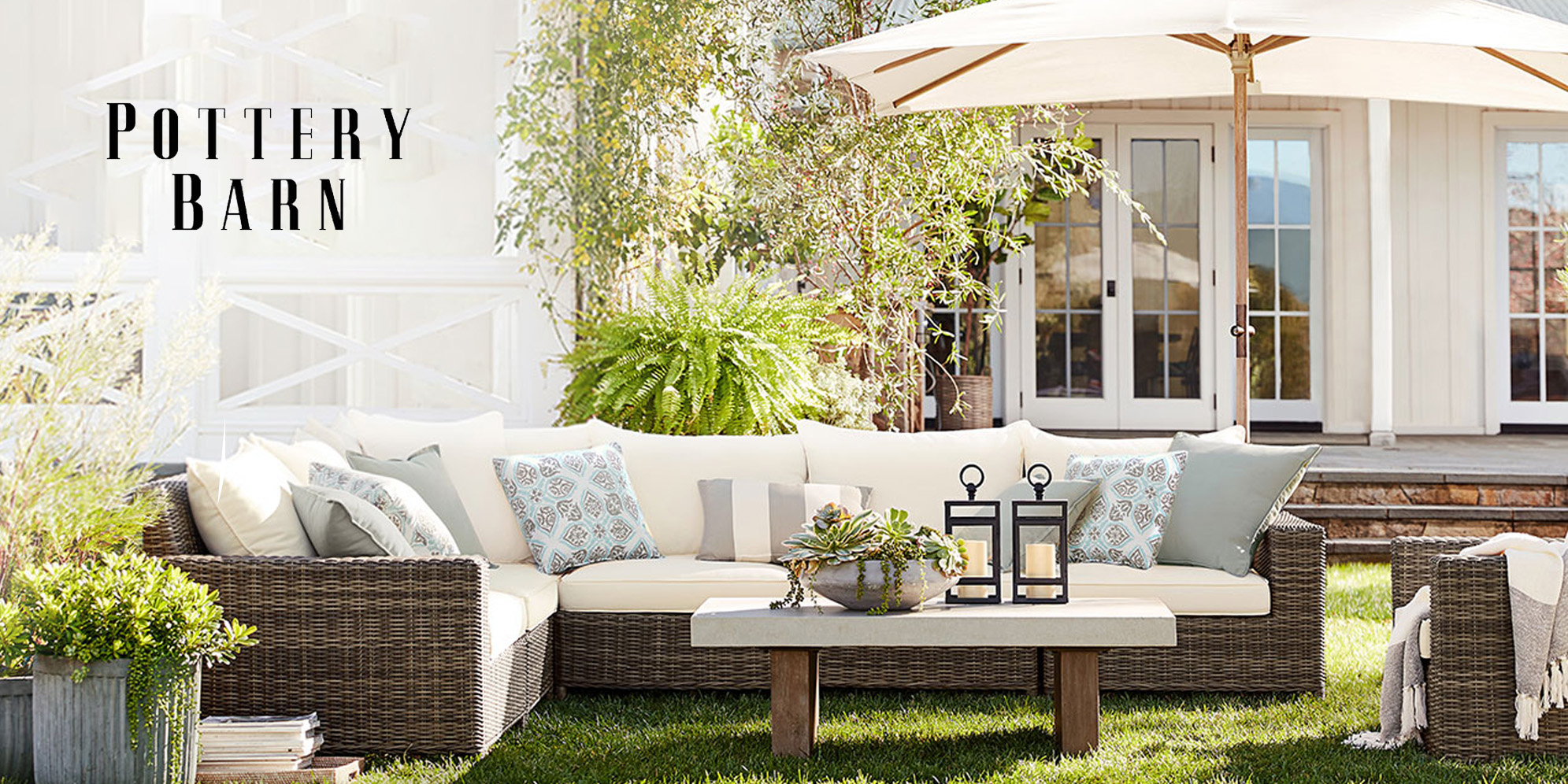 Pottery Barn S Outdoor Event Is Live With Up To 50 Off Furniture Lighting Decor More 9to5toys