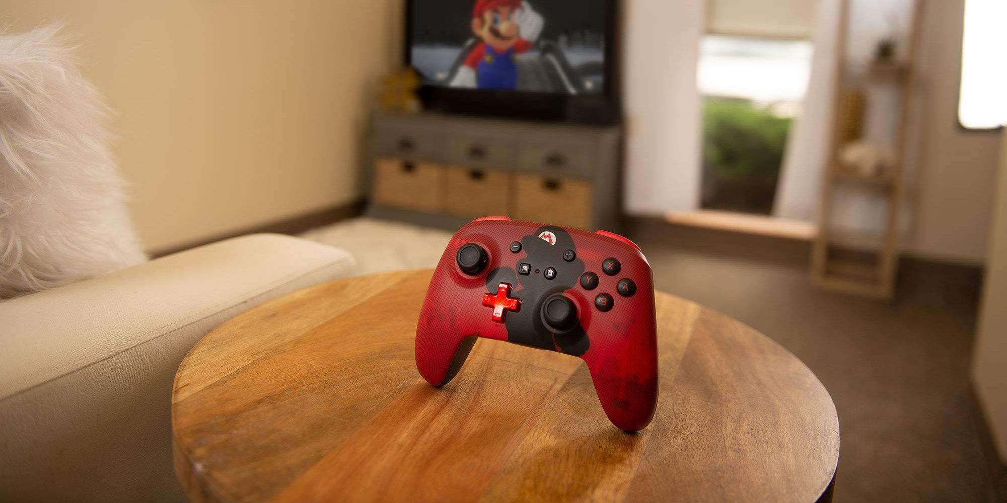 PowerA's Mario Silhouette Nintendo Switch Enhanced Controller returns to $40 (Reg. up to $50)