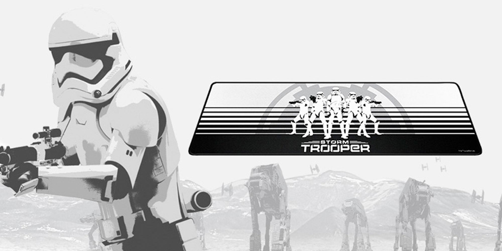 razer stormtrooper edition mousepad
