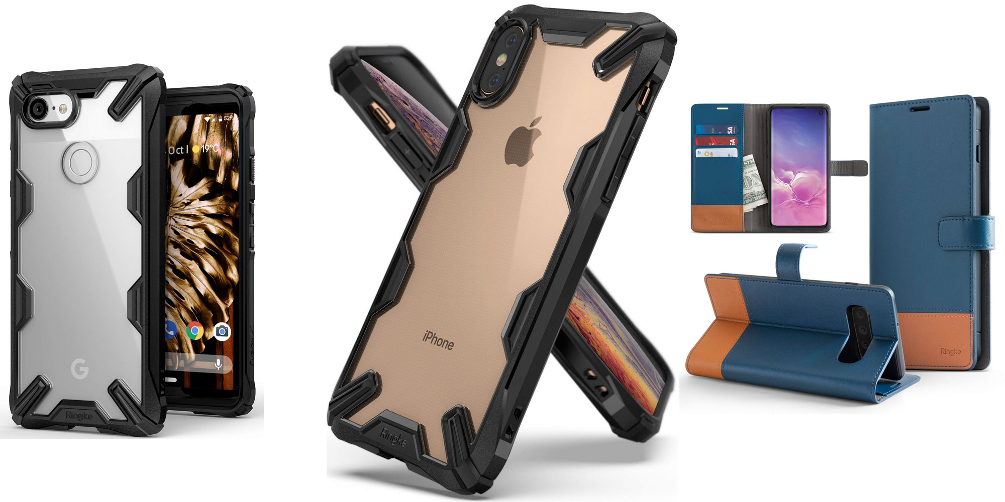 Protect your iPhone, Pixel, or Galaxy S10 w/ these budget-friendly cases for just $4