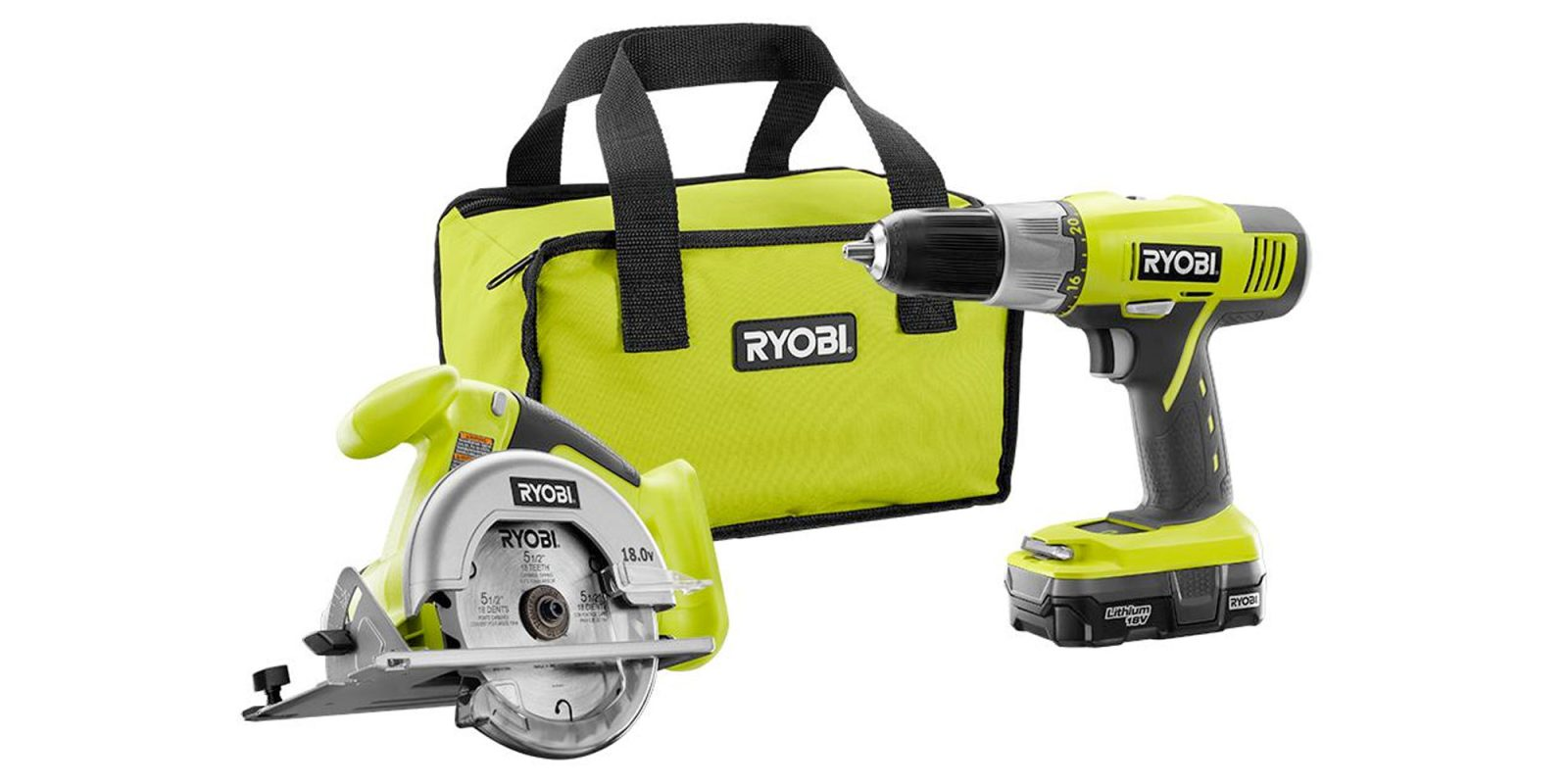 Start Your DIY Toolkit W/ RYOBI's Highly-rated 18V ONE