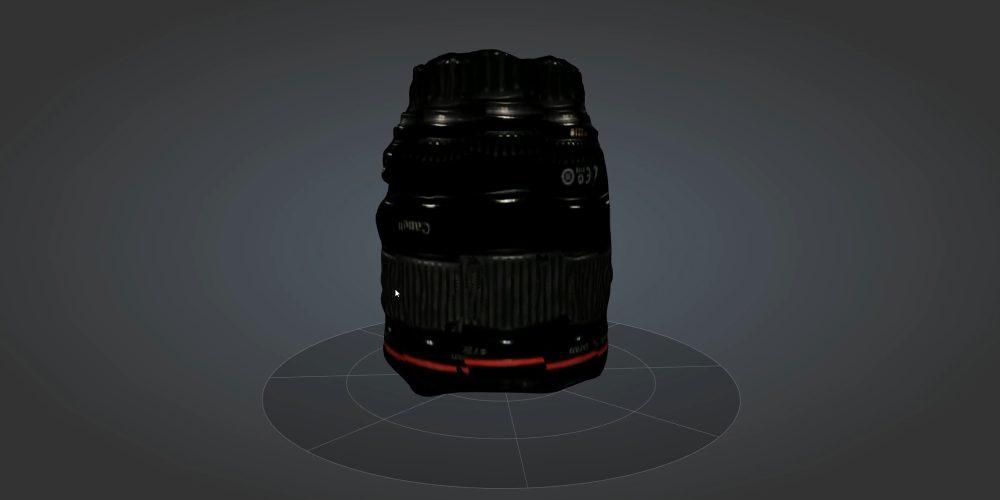 SOL Scanner lens scan