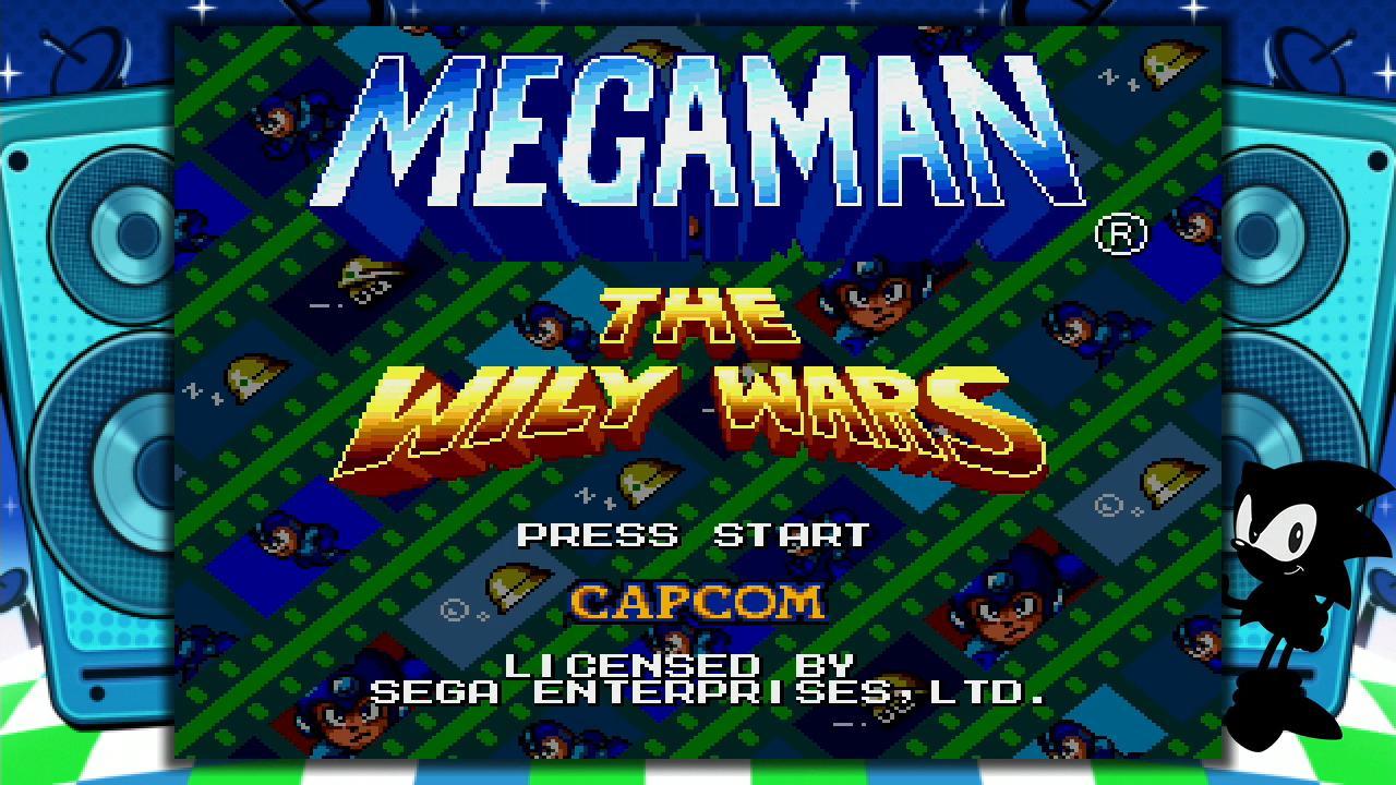 Sega Genesis Mini console Mega Man