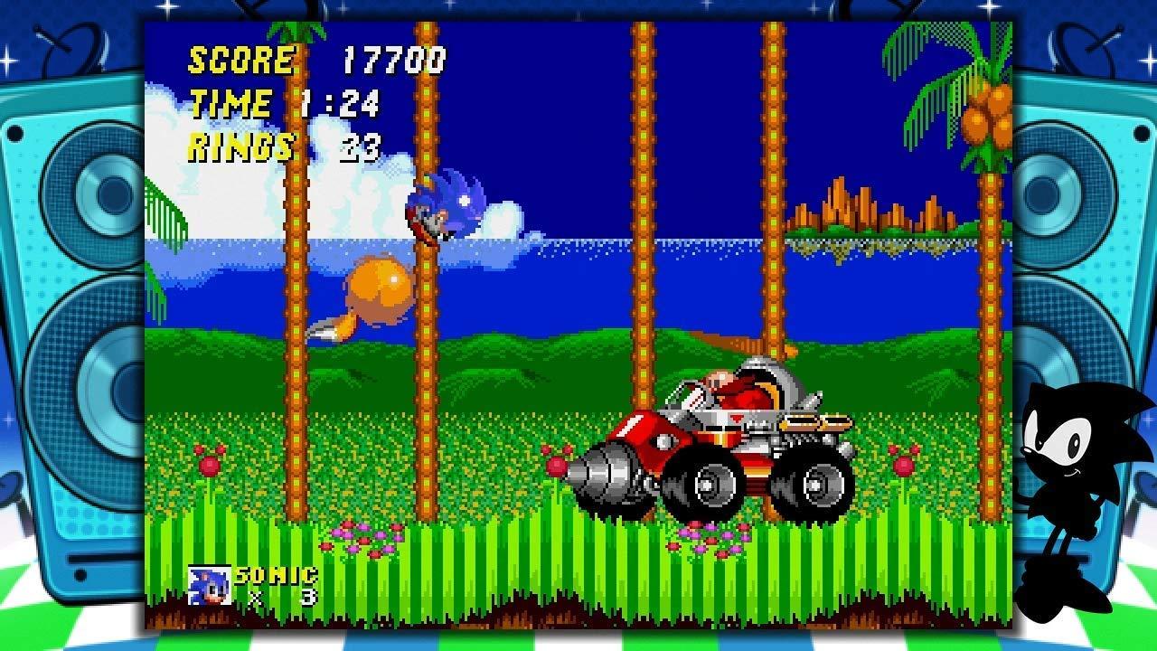 Sega Genesis Mini console Sonic