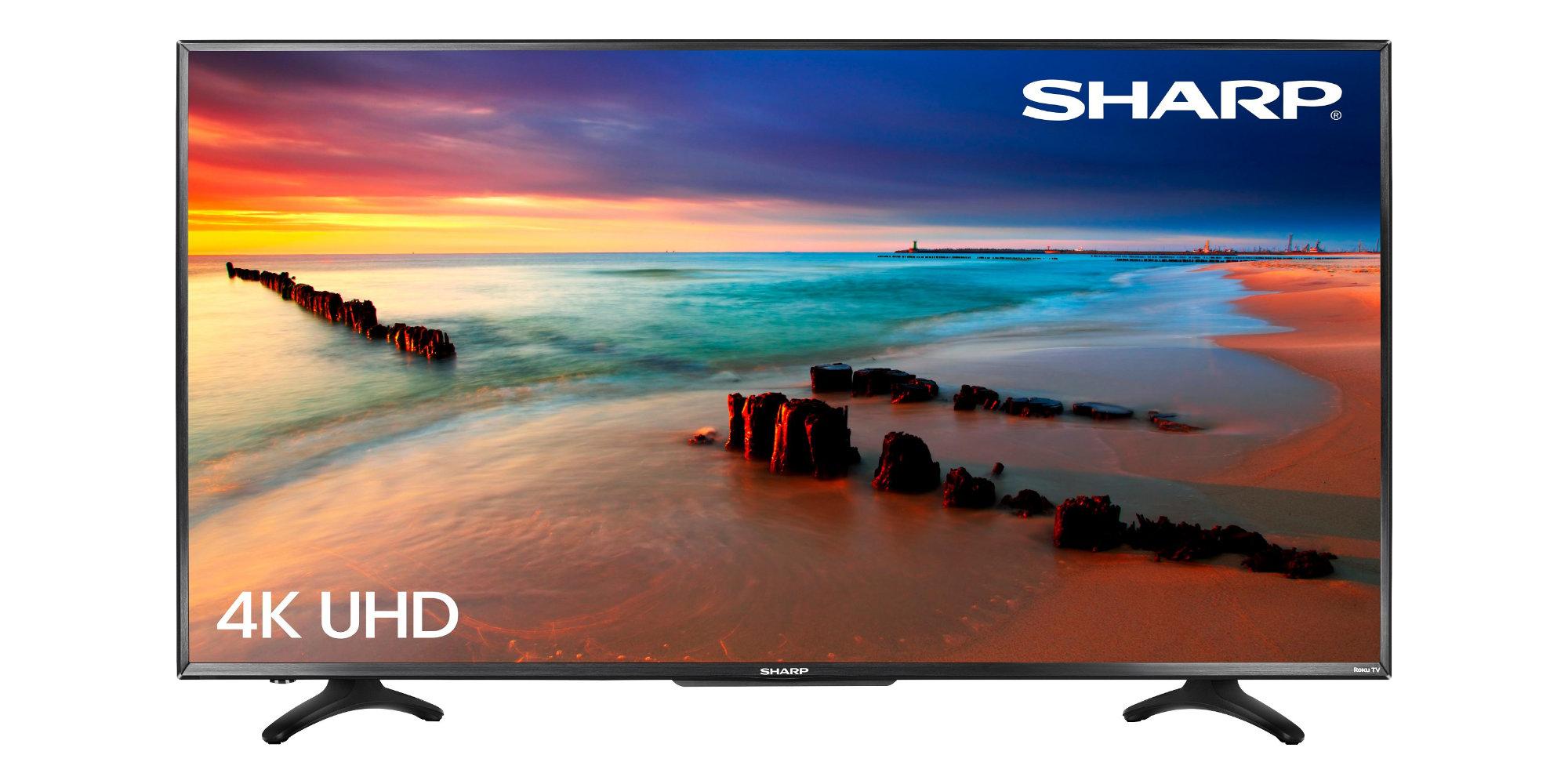 4K, HDR, and Roku software make Sharp's 55-inch Smart TV a solid upgrade: $300 (Reg. $400)
