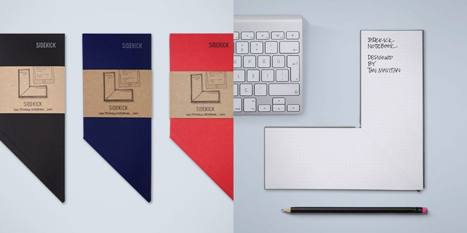 This notebook fits perfectly around your keyboard: two-packs now $42