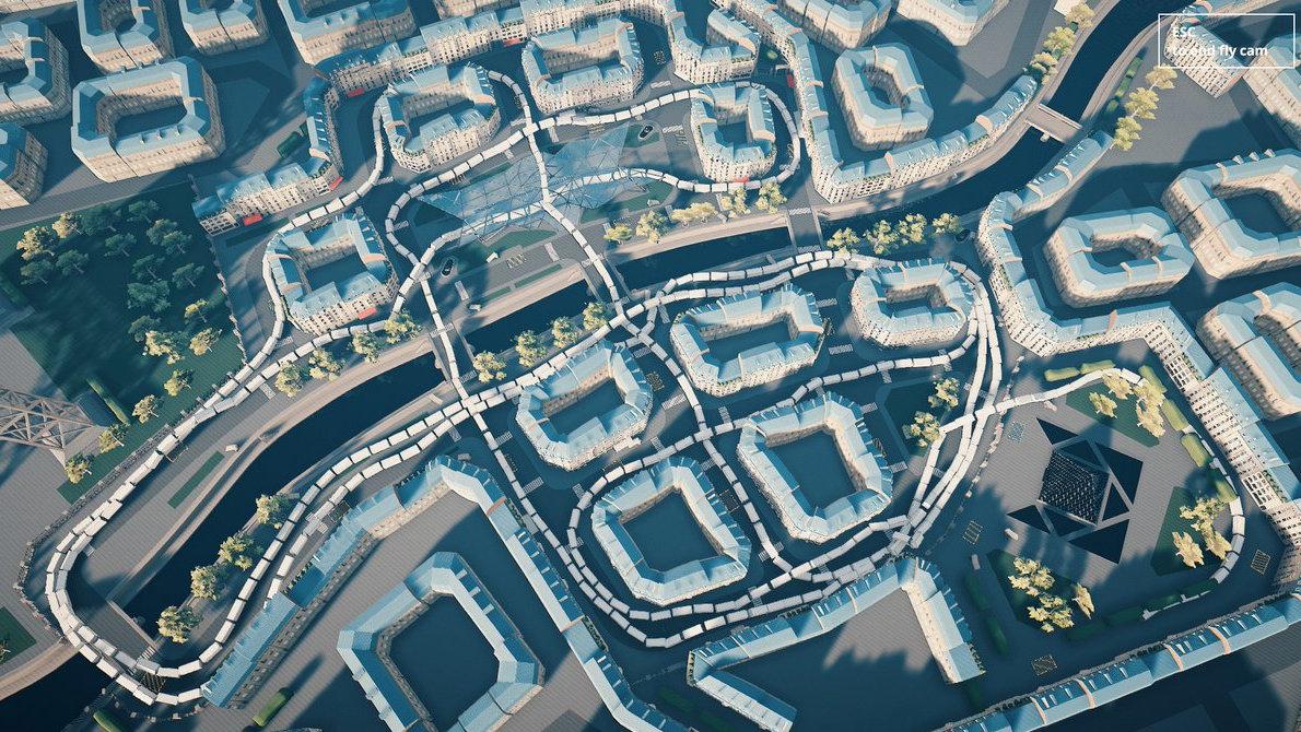 Snakeybus map
