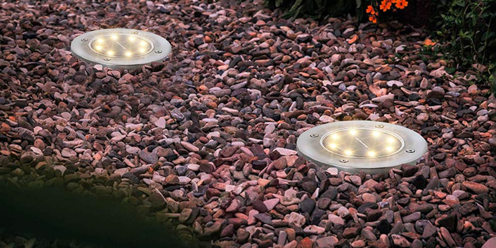 Add some flair to your garden or walkway w/ a 4-pack of solar ground lights for $19 Prime shipped