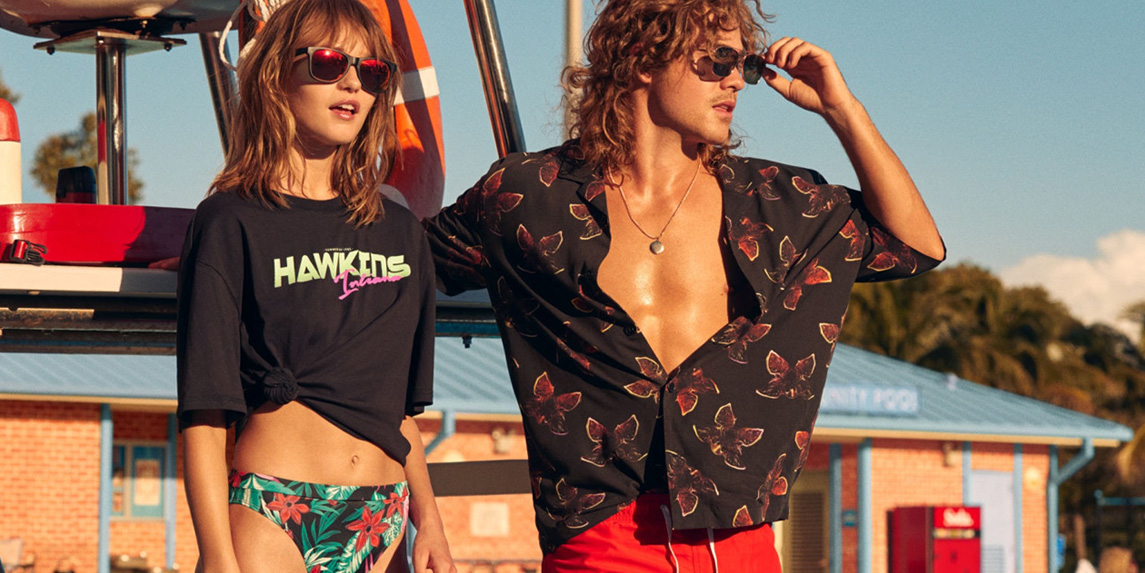 8434ba386a H&M x Stranger Things collaboration takes you back to the 1980's to  celebrate its third season