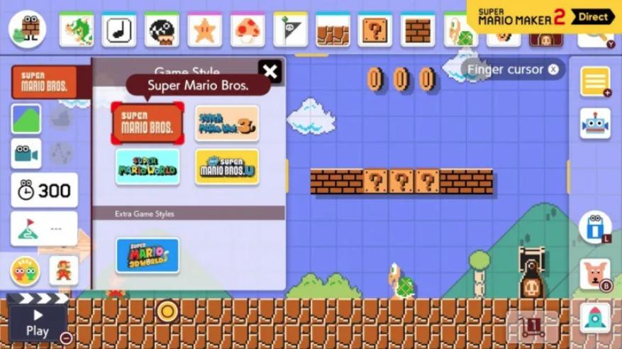 Super Mario Maker 2 secrets - Game Style