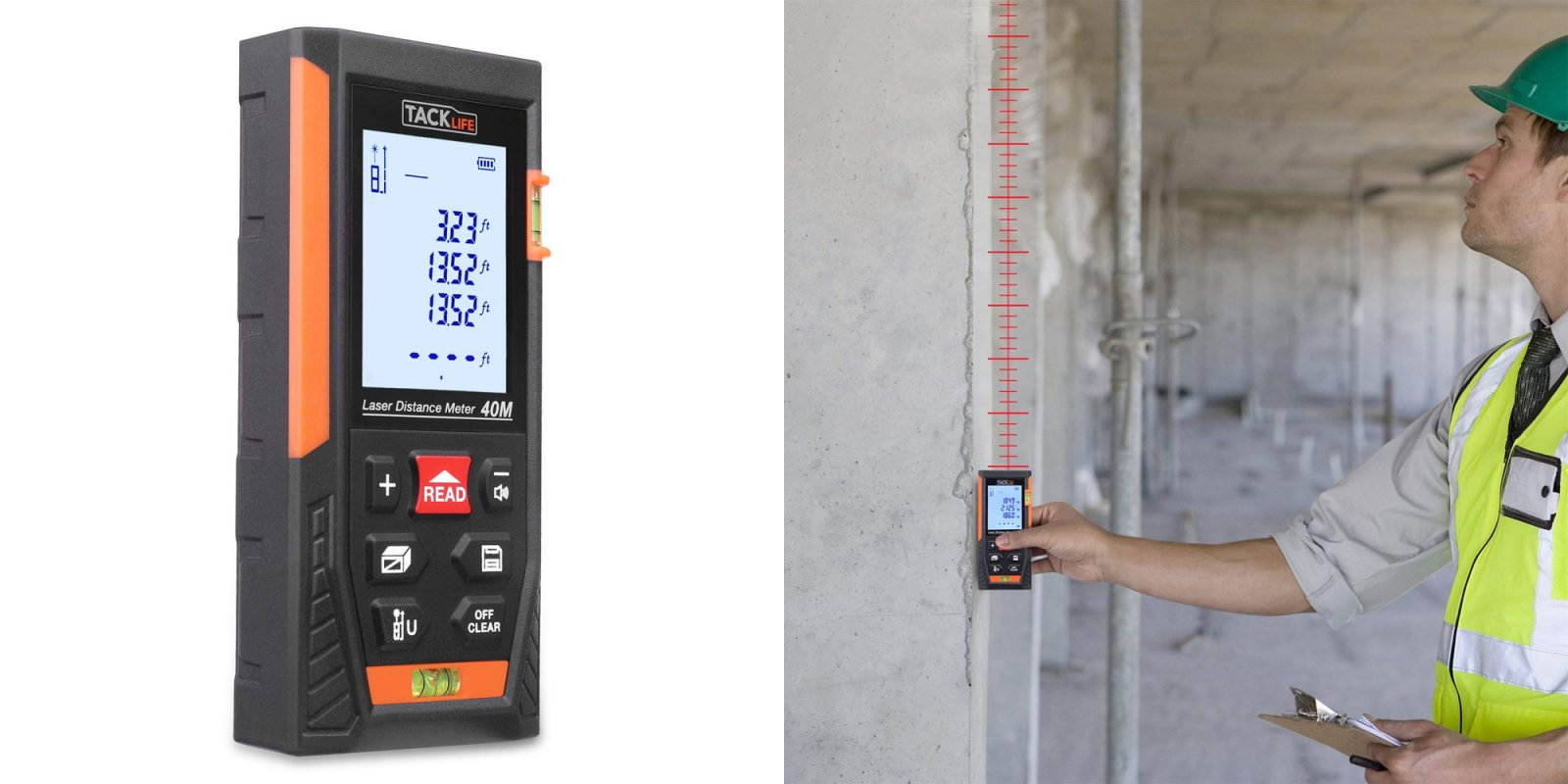 This digital tape measure reaches 131 feet for $20 Prime shipped (30% off)