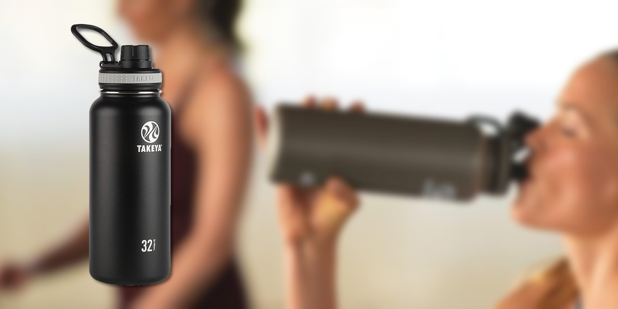 Takeya's Stainless Steel 32-ounce Bottle maintains temps for up to 24 hours: $19 (Reg. $25)