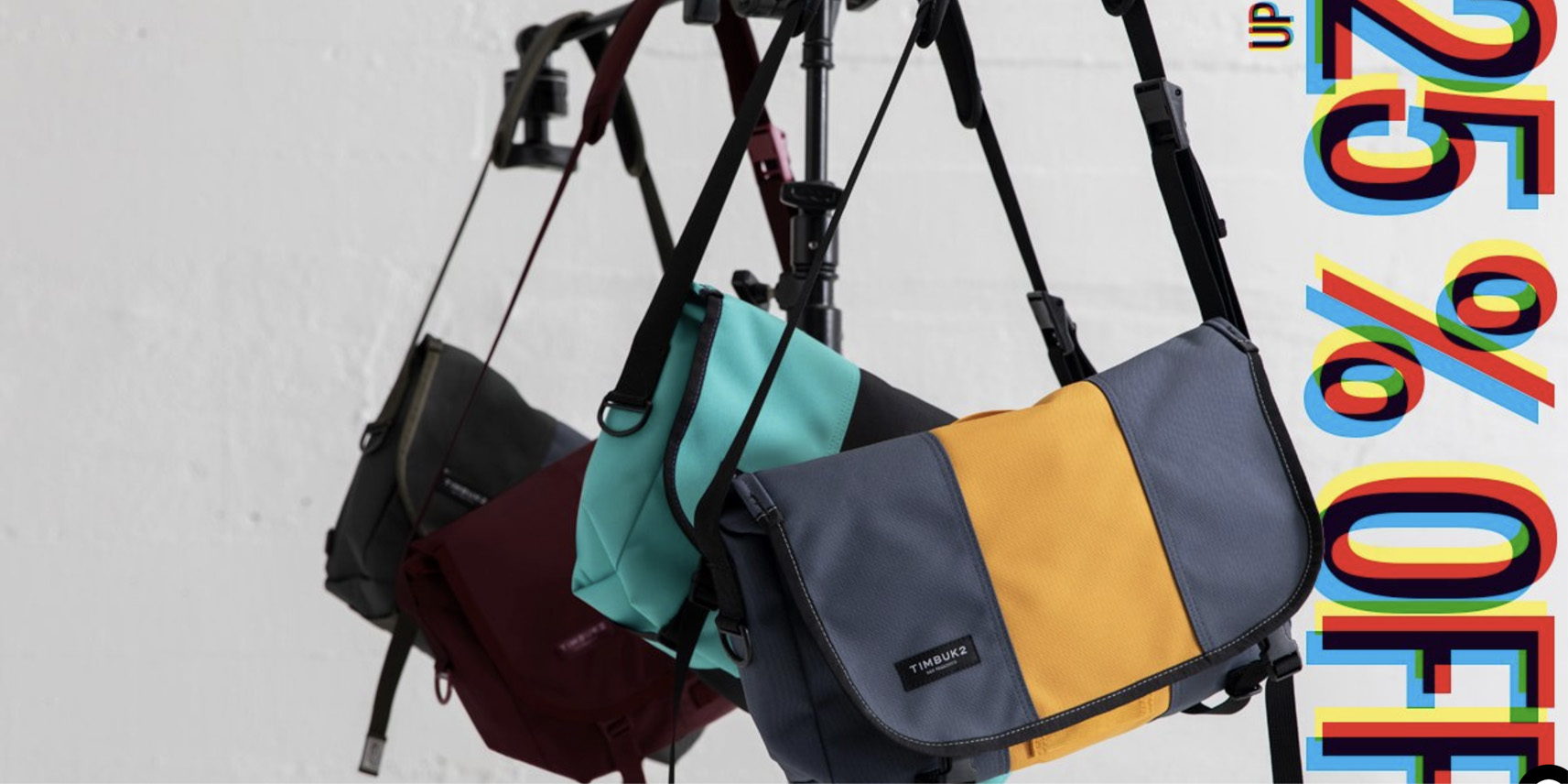 Timbuk2 takes up to 25% off MacBook backpacks, messenger bags & more + free shipping