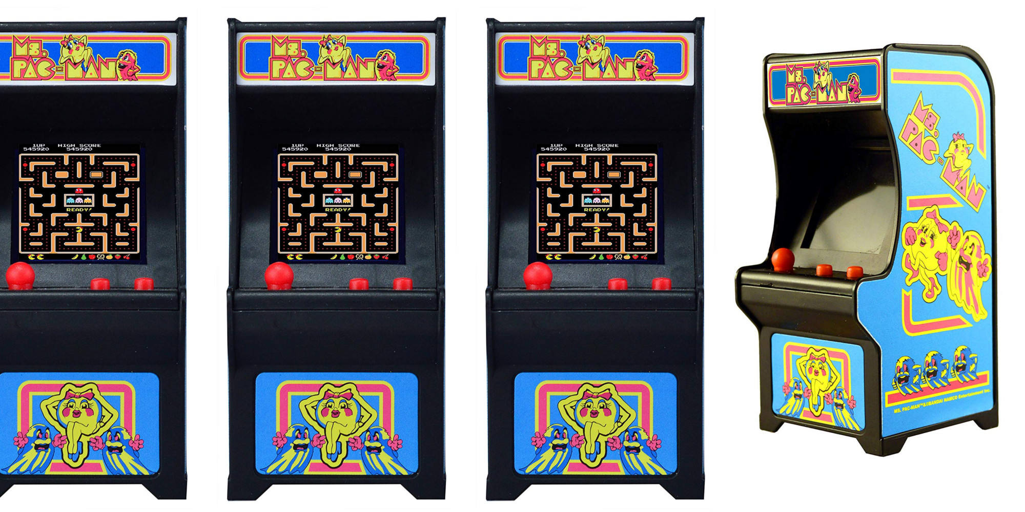 Put the mini playable Ms. Pac-Man Arcade on your shelf at just over $10 Prime shipped (Reg. $15+)