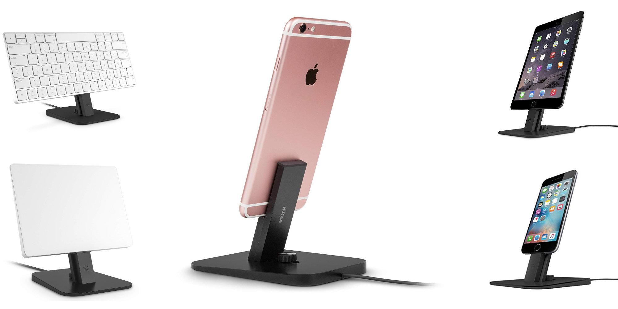 Twelve South's versatile HiRise Deluxe can dock a slew of Apple devices for $16 (Amazon low)