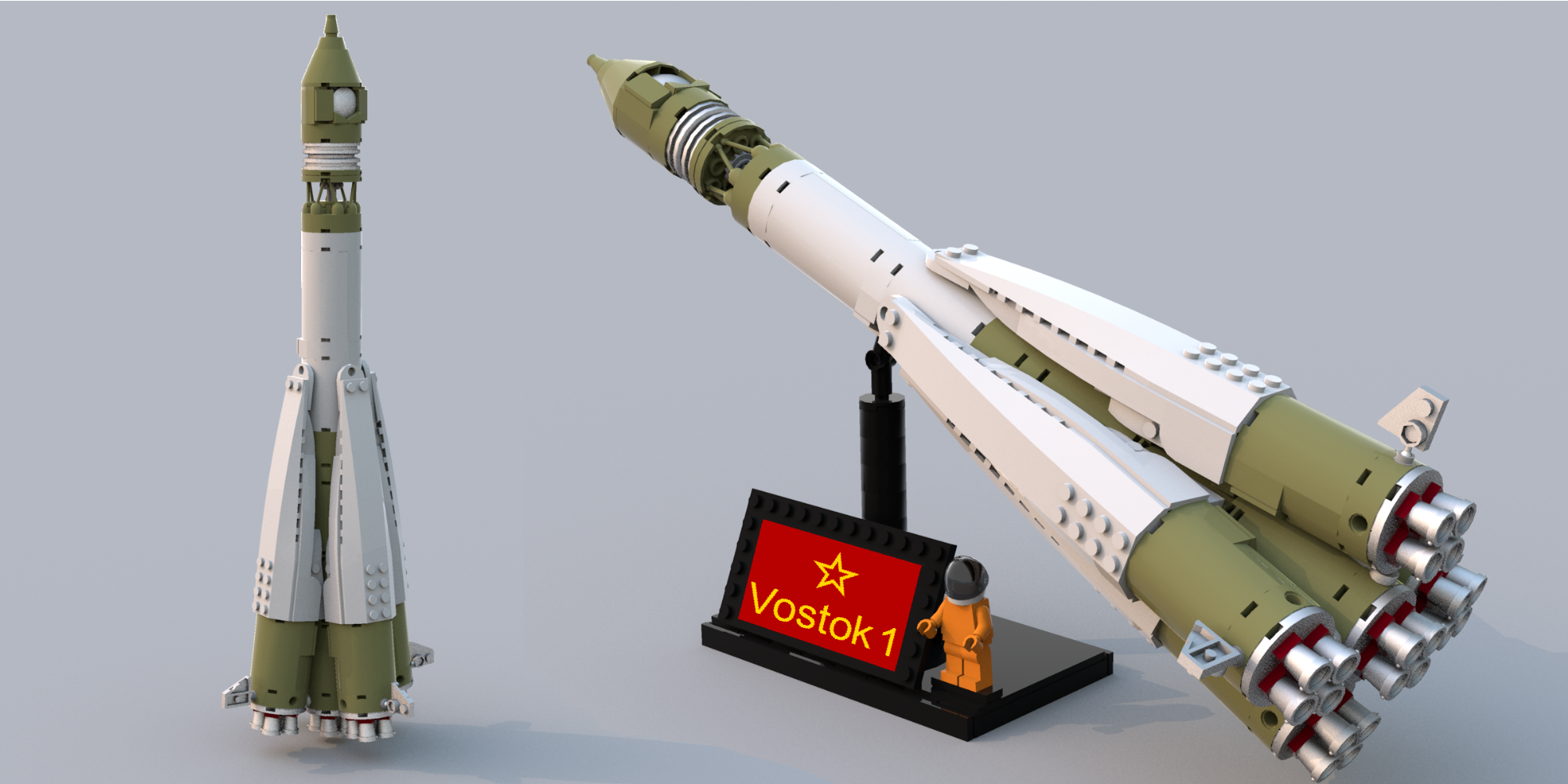 Vostok 1 space