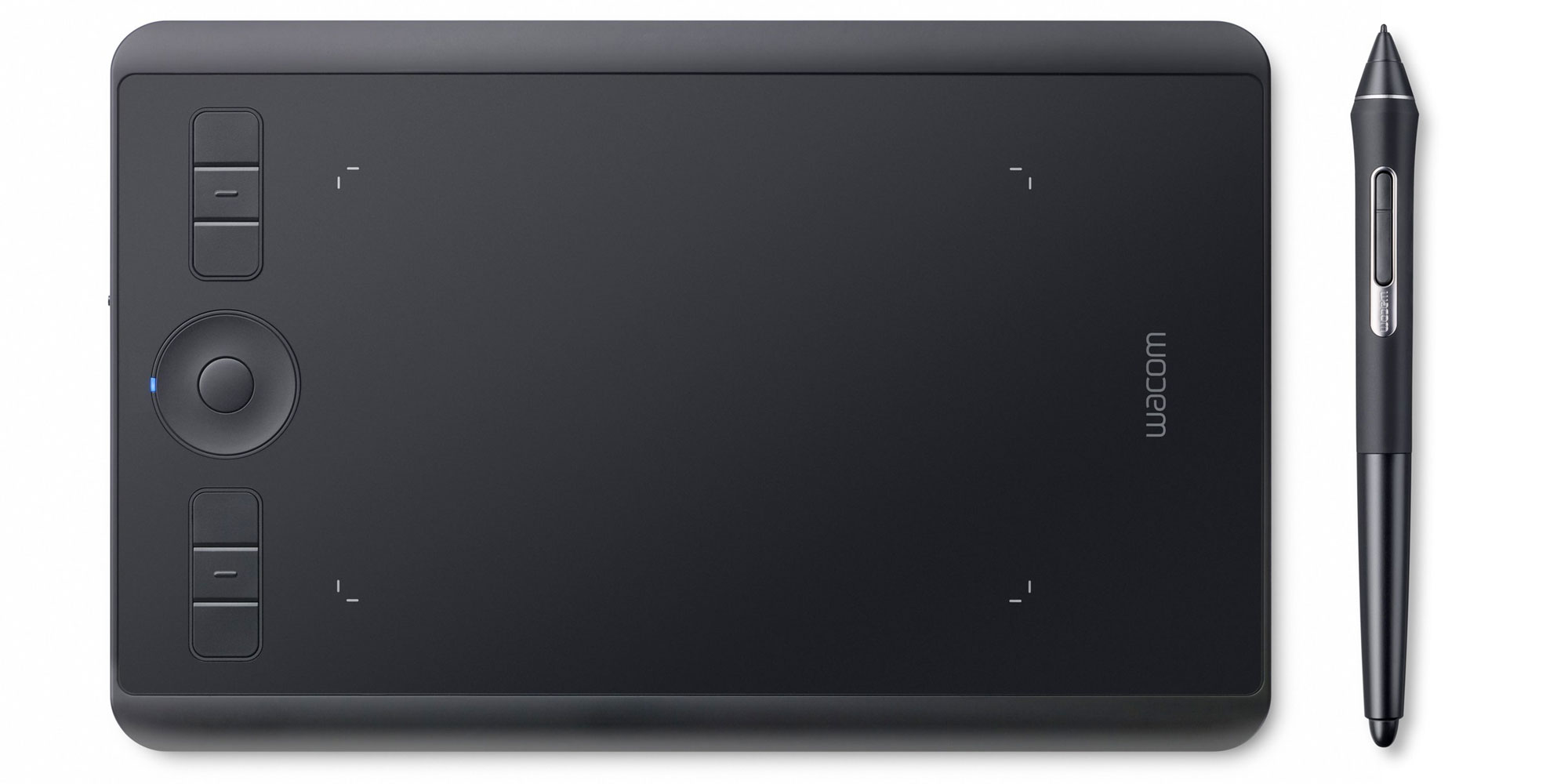 Wacom's latest Intuos Pro Small offers a highly-sensitive portable Bluetooth drawing tablet