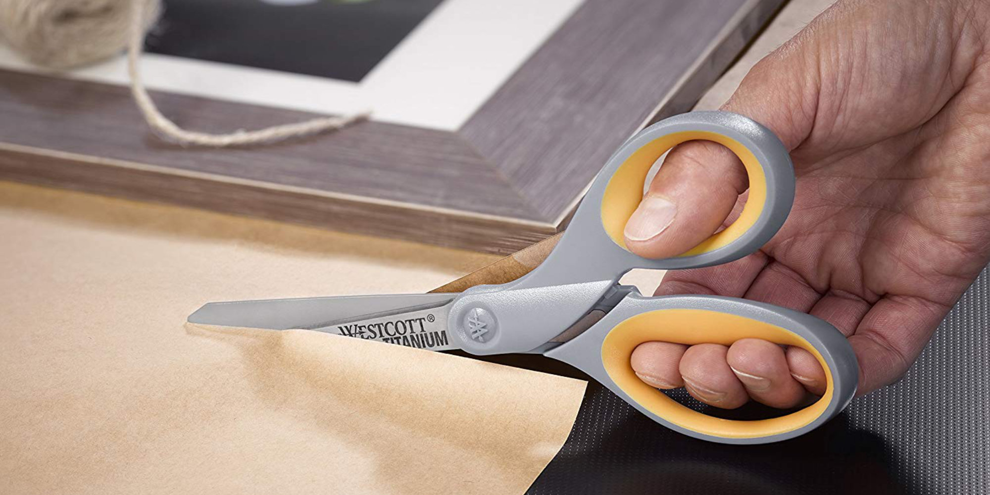 Less than $5 nabs a 2-pack of Westcott 8-inch Titanium Bonded Scissors (Save 45%)