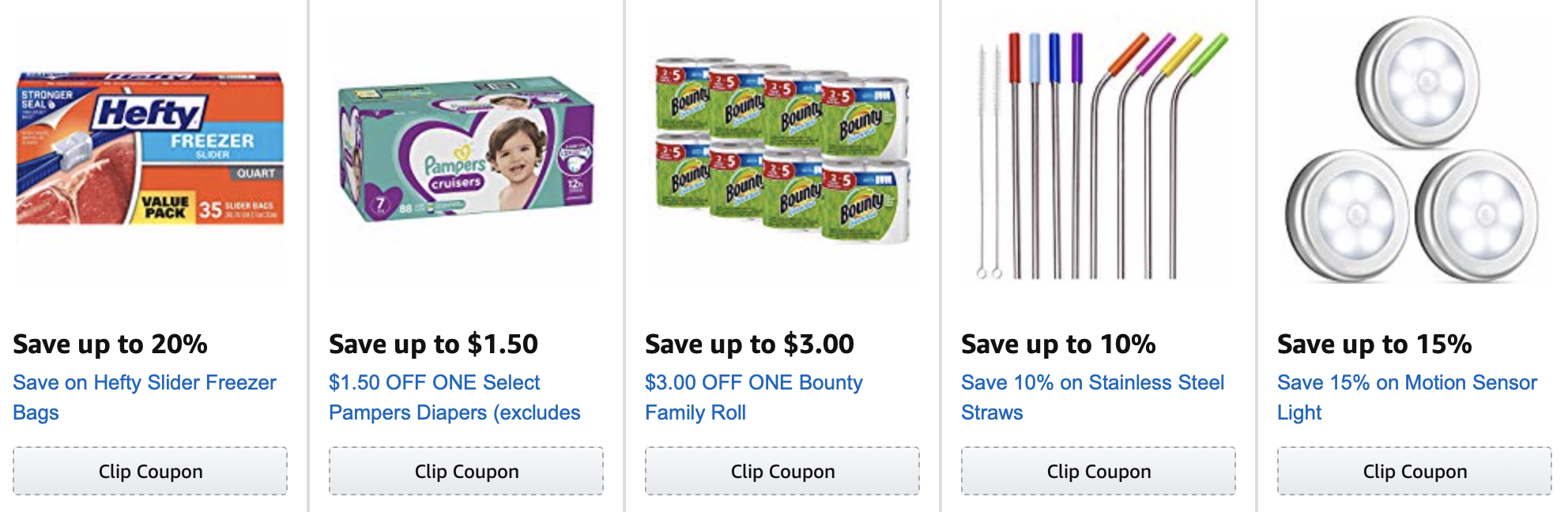 Amazon subscribe & save coupons