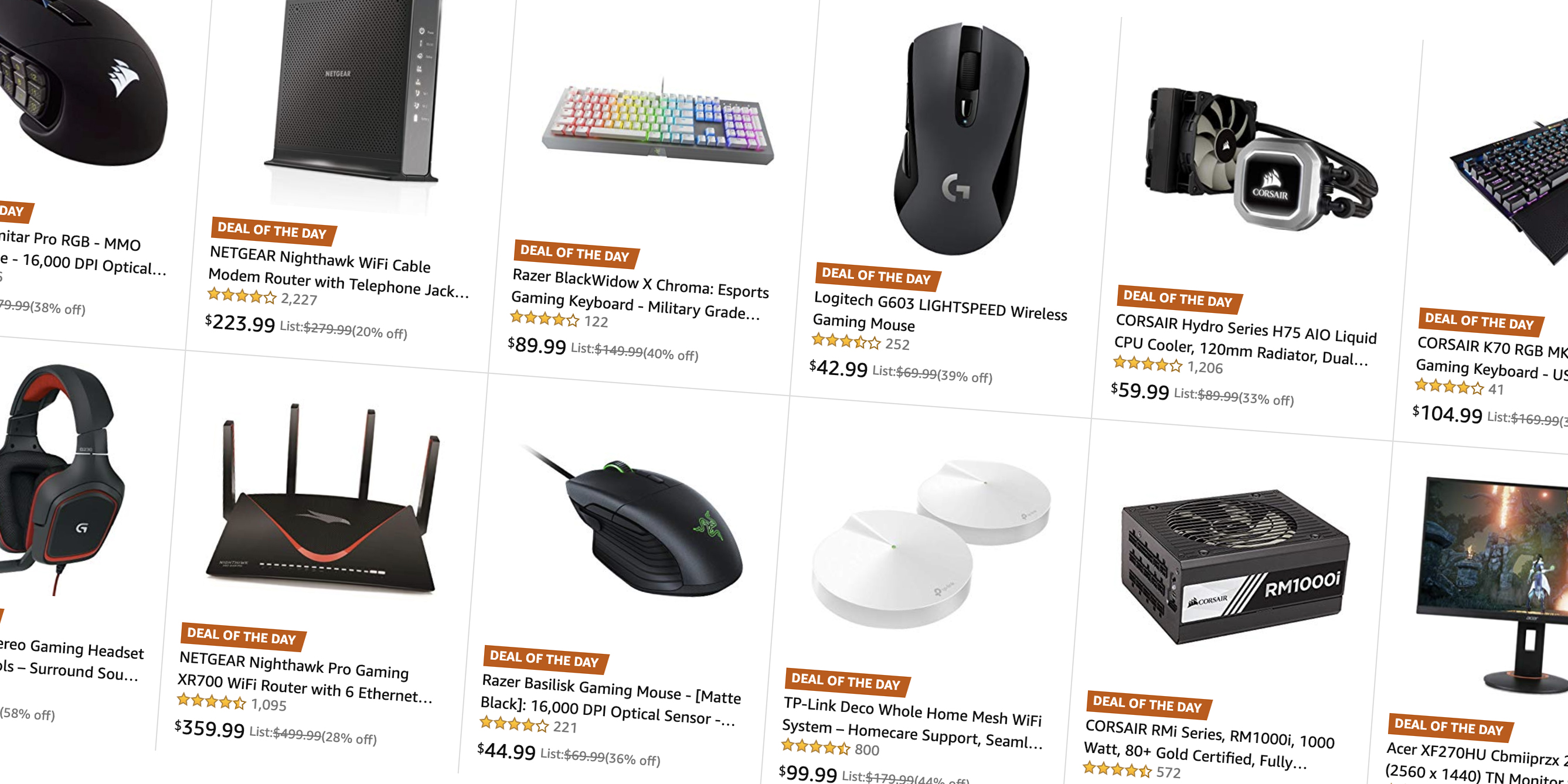 Save on Mac and PC accessories from $6 in today's Gold Box: Logitech, TP-Link, Acer, more