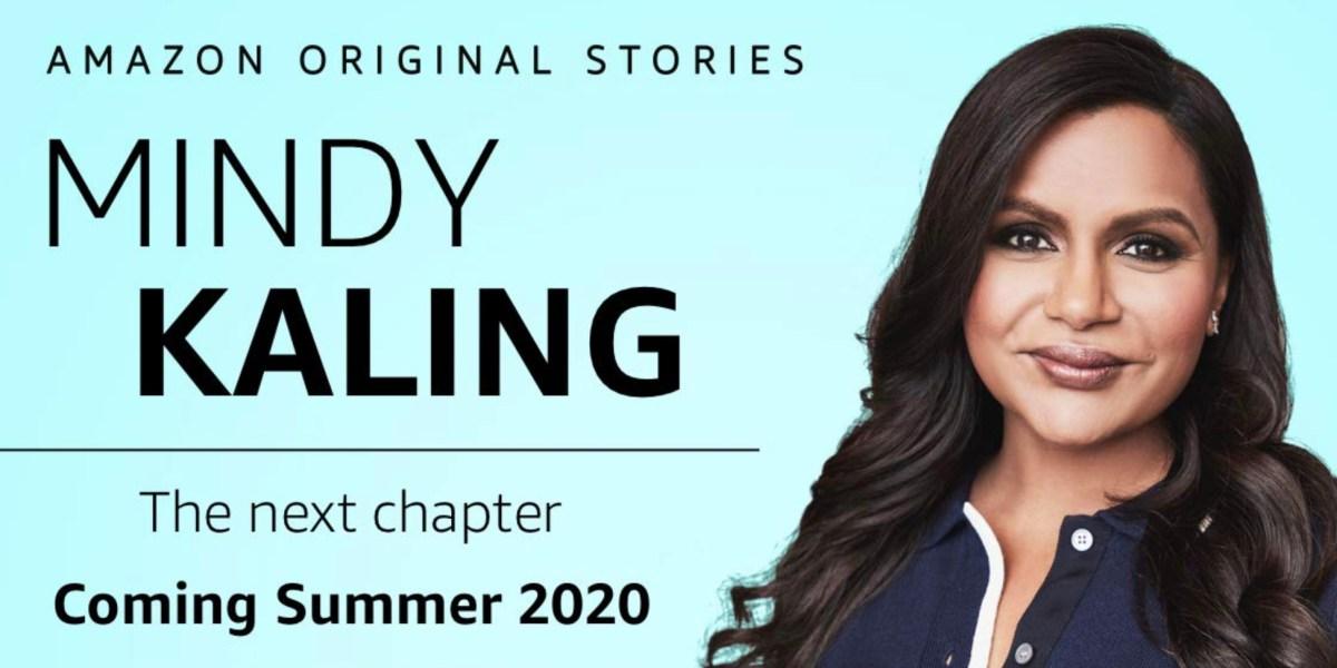 Mindy Kaling joins Amazon Originals