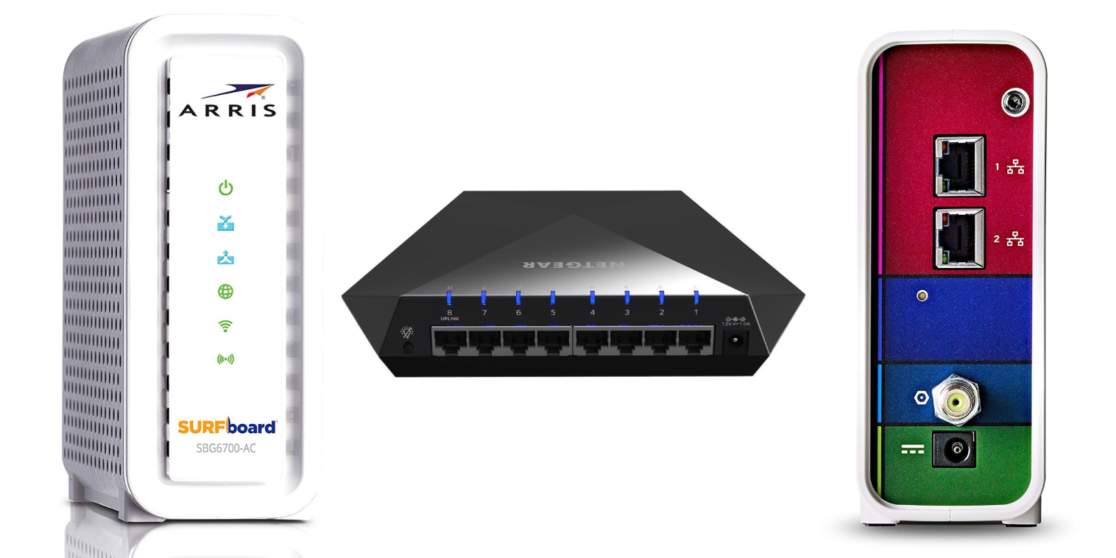 ARRIS' 802.11ac Router and DOCSIS 3.0 Modem Hybrid drops to $70 ($20 off), more from $55