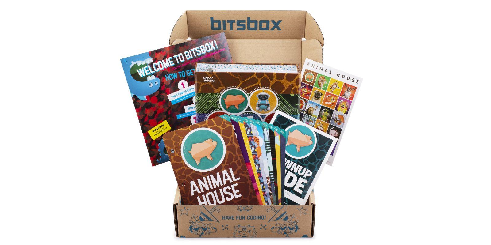 Bitsbox Coding Kits deliver monthly STEM-focused activities, get