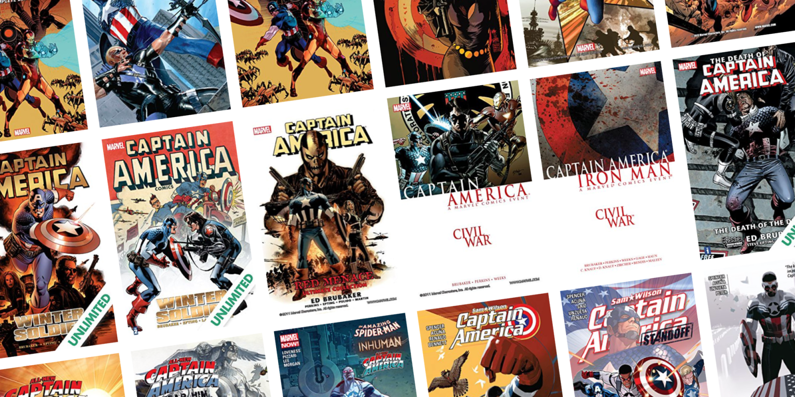 Celebrate Memorial Day with up to 67% off Captain America graphic novels + issues at ComiXology