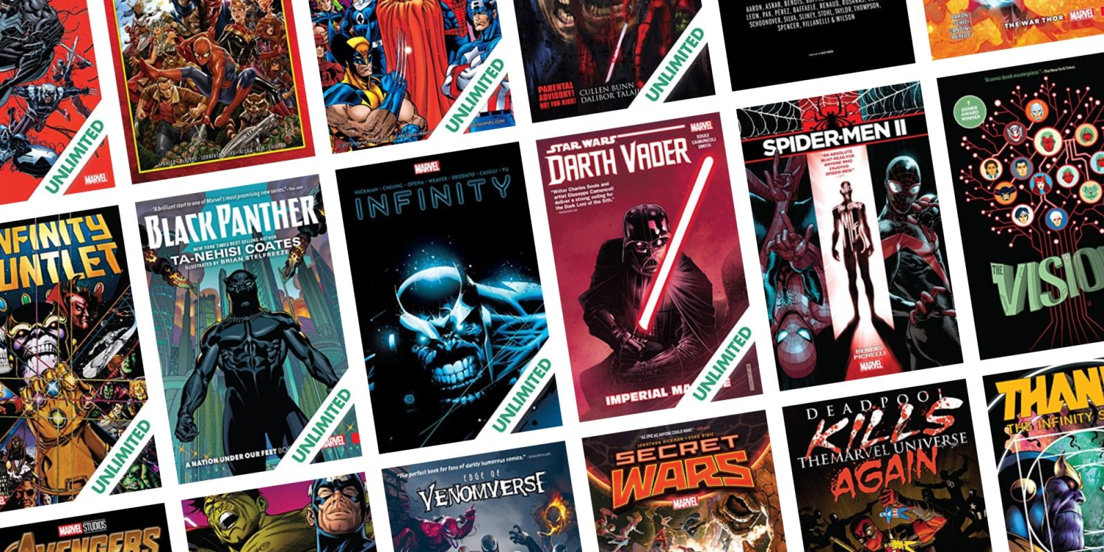ComiXology takes 50% off its entire selection of Marvel digital