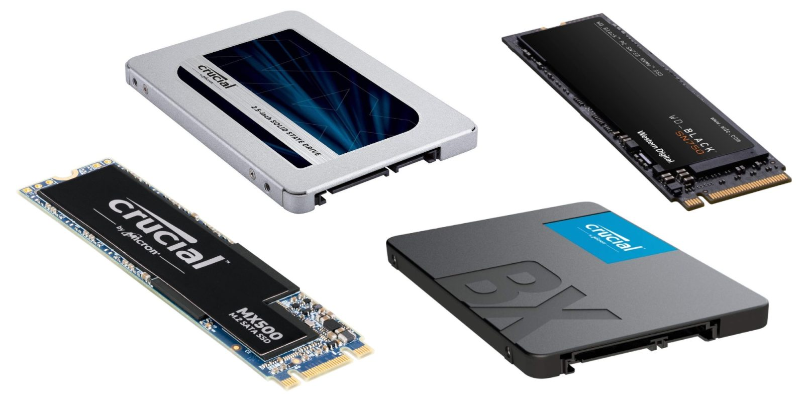 Best SSD deals: Crucial 250GB $40, WD Blue 2TB $220, more - 9to5Toys