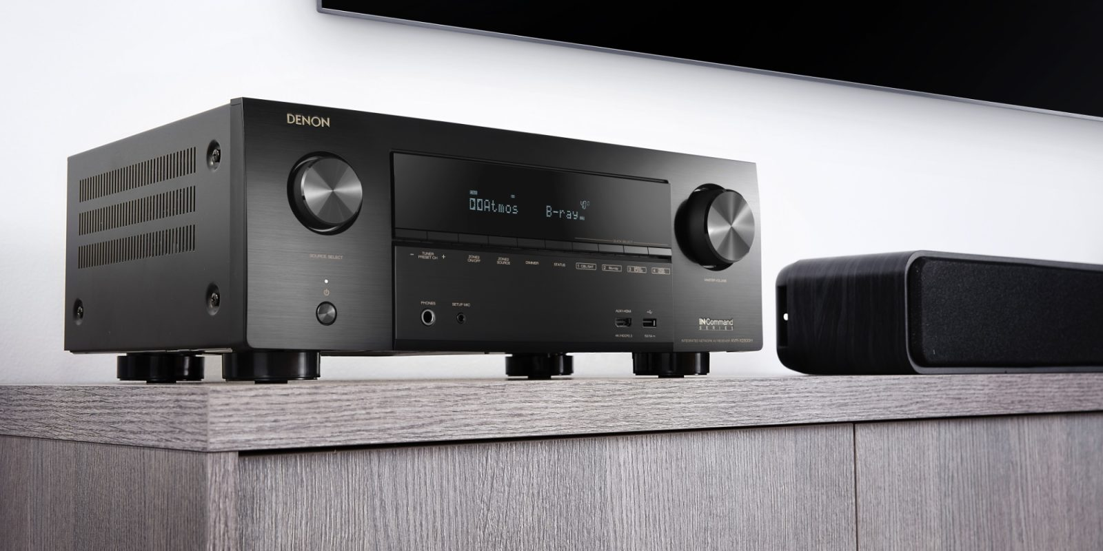 Denon X-Series AV Receivers tout AirPlay 2 + hi-res playback