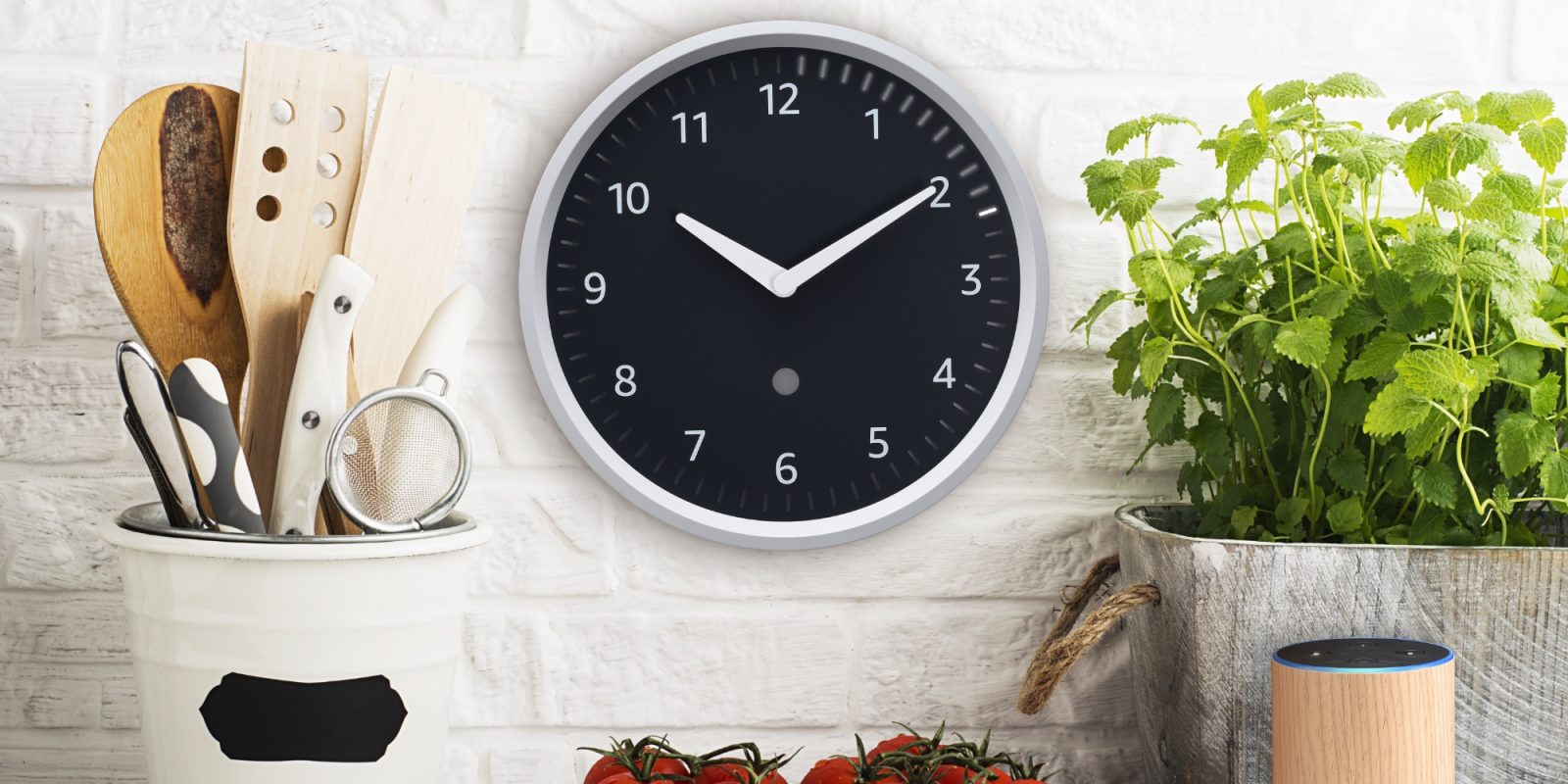 Echo Wall Clock visualizes timers and expands your Alexa smart home for $25