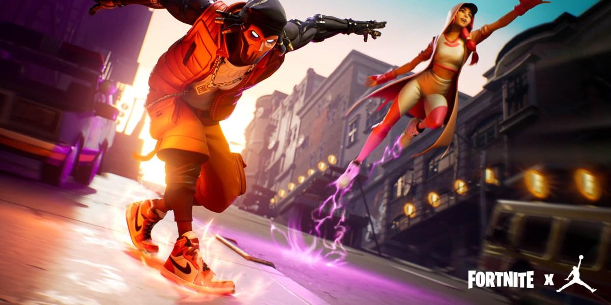 Fortnite x Jumpman collaboration