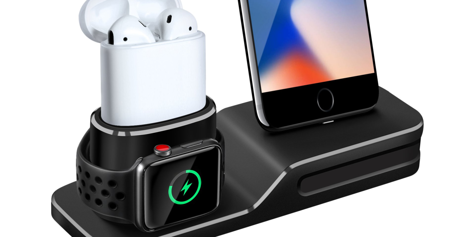Give your iPhone, Apple Watch and AirPods a home with this 3-in-1 dock at $8 Prime shipped