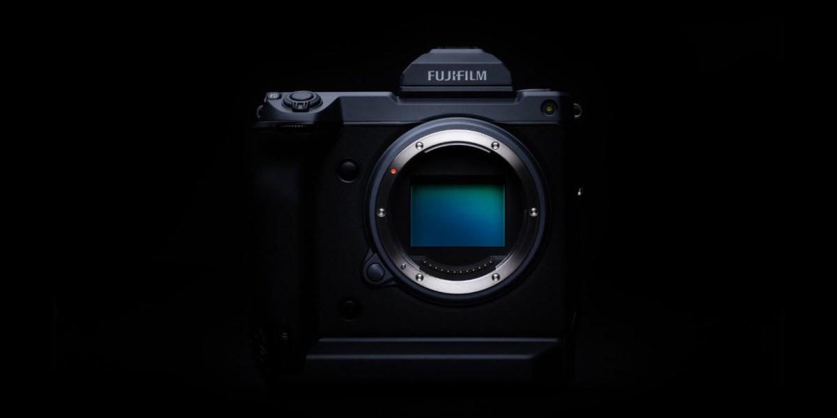 Fuji GFX100 camera no lens