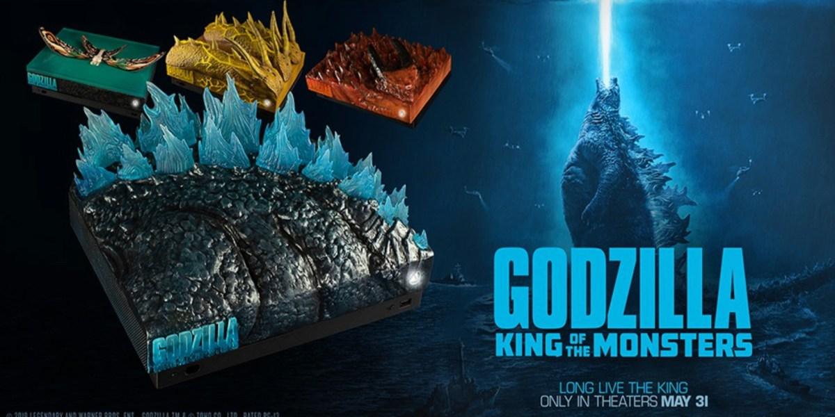 Godzilla Xbox One X console