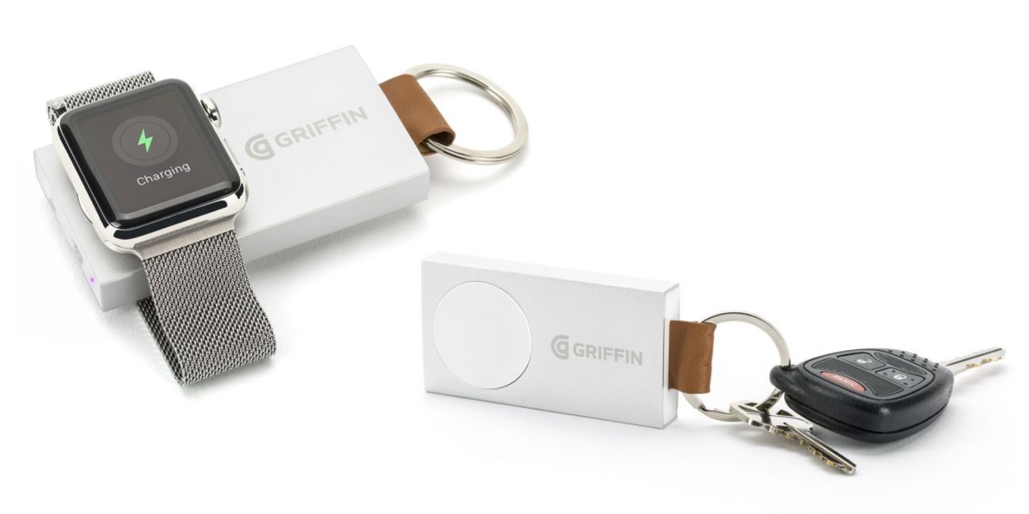 Keep your Apple Watch charged while on-the-go w/ Griffin's $31 MFi Travel Power Bank (Reg. $50)