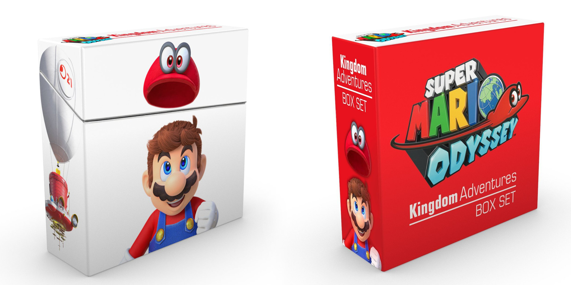The Super Mario Odyssey Adventures Box Set hits the Amazon low at $34 (Reg. $47+)