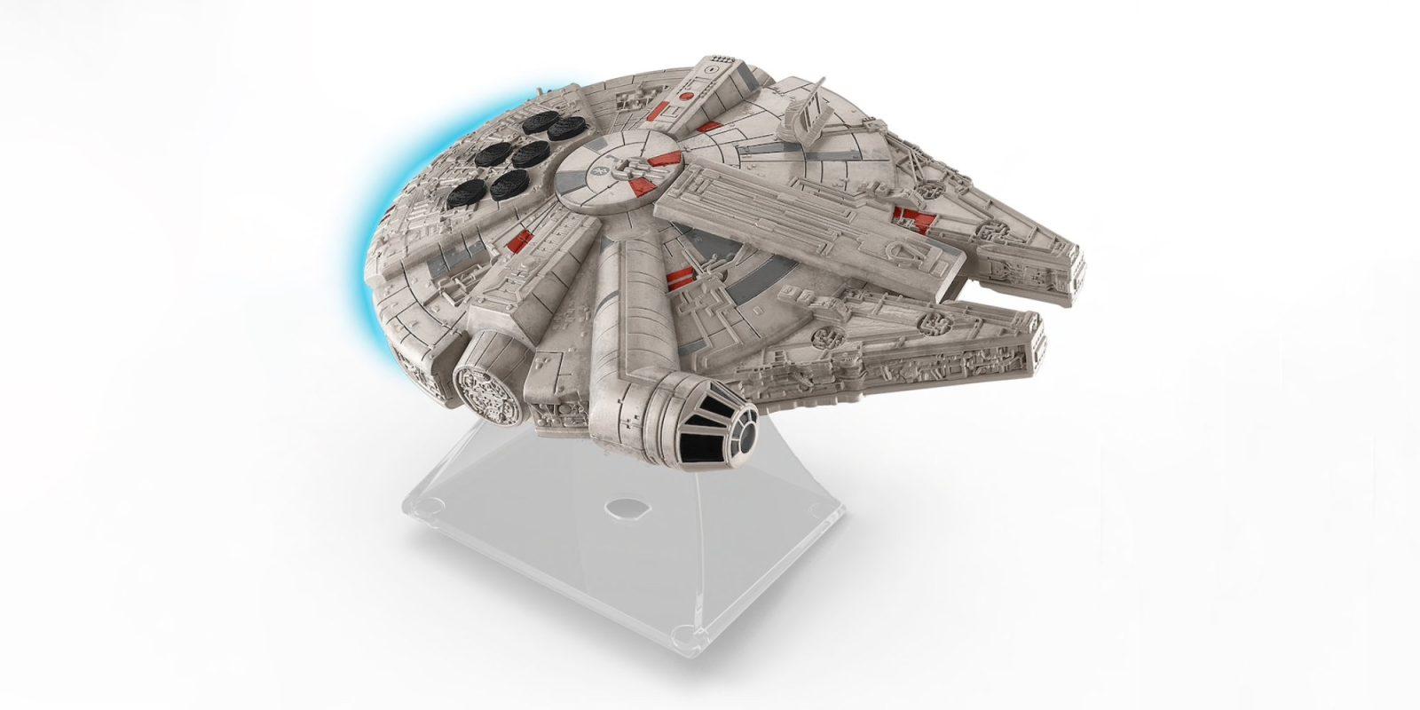 iHome's Millennium Falcon Bluetooth Speaker is made w/ Star Wars fans in mind: $23 (Reg. $40+)