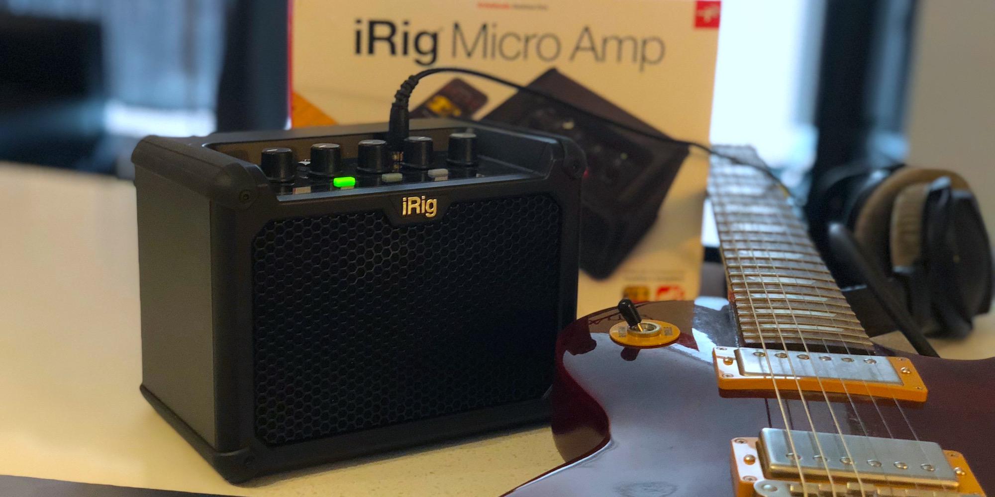 Review: iRig Micro mini guitar amp doubles as an iOS/Mac audio interface + more