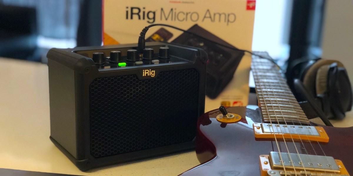 iRig Micro mini guitar amp review